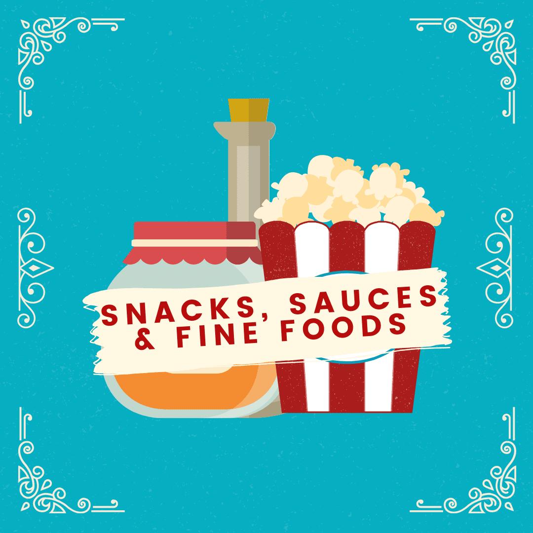 Snacks, Sauces & Fine Foods