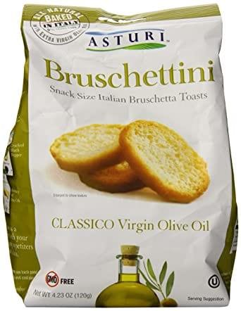 Asturi Bruschettini Toasts