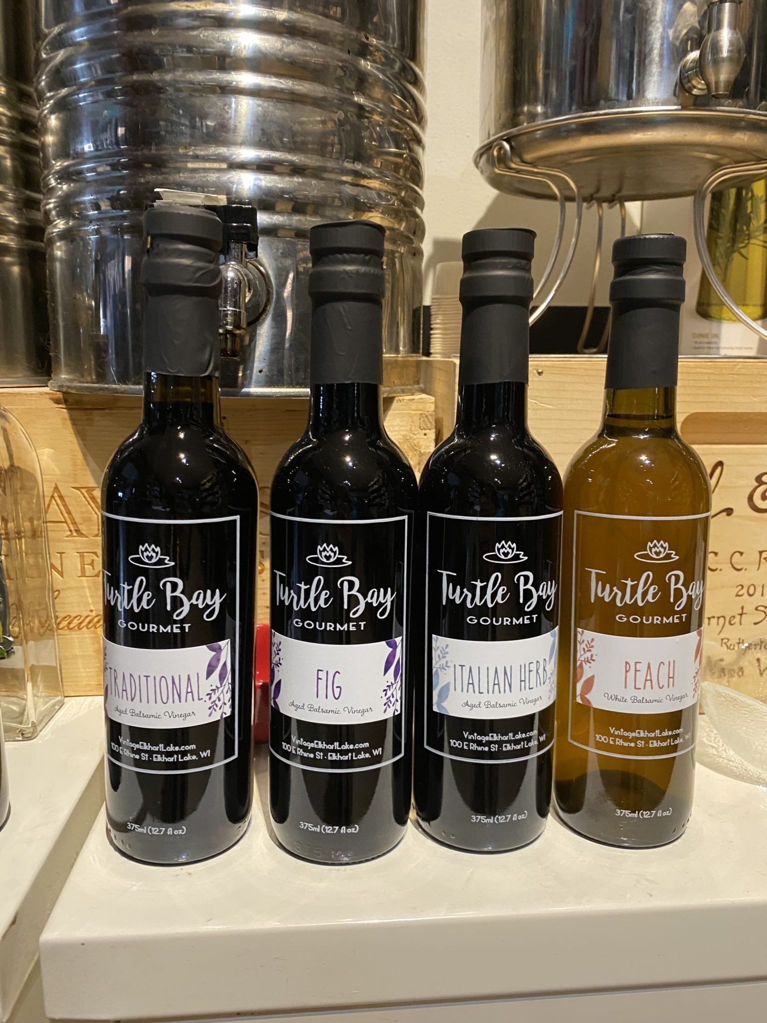 Turtle Bay Gourmet Peach White Balsamic Vinegar