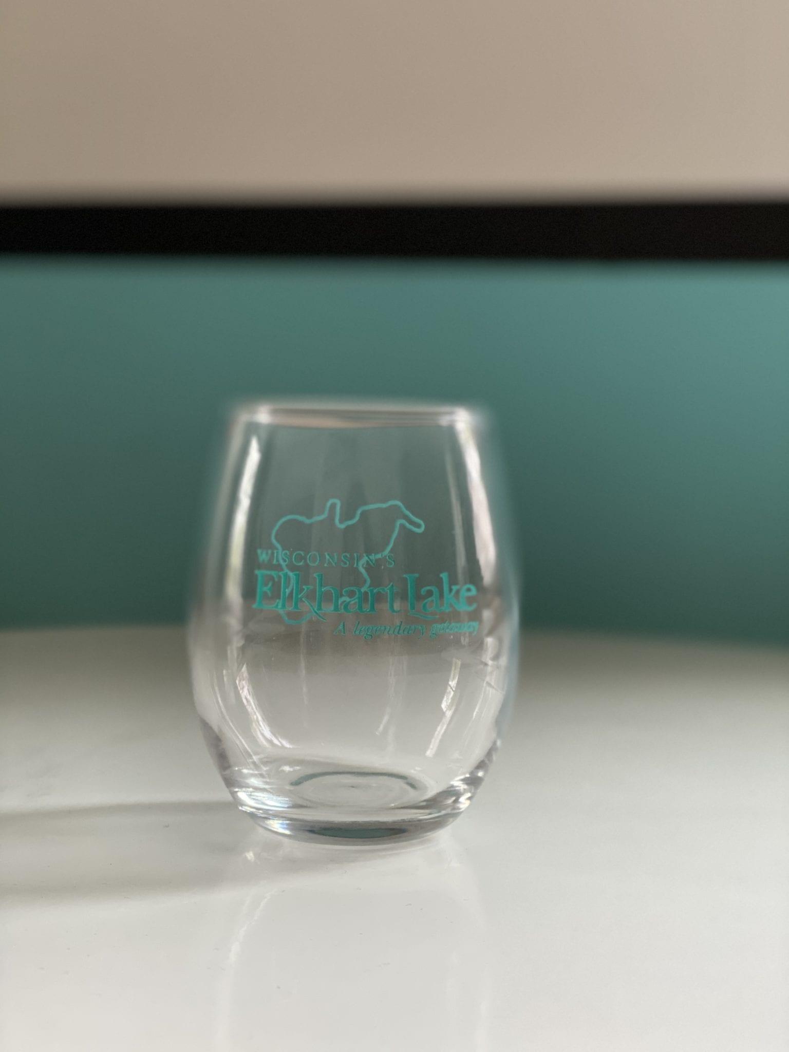 Elkhart Logo Mini Wine Glass