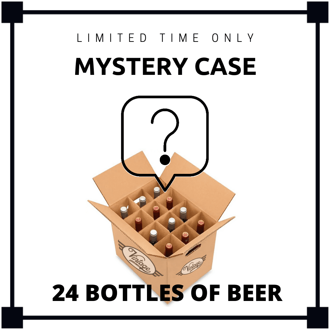 Mystery Case - 24 bottles of Beer