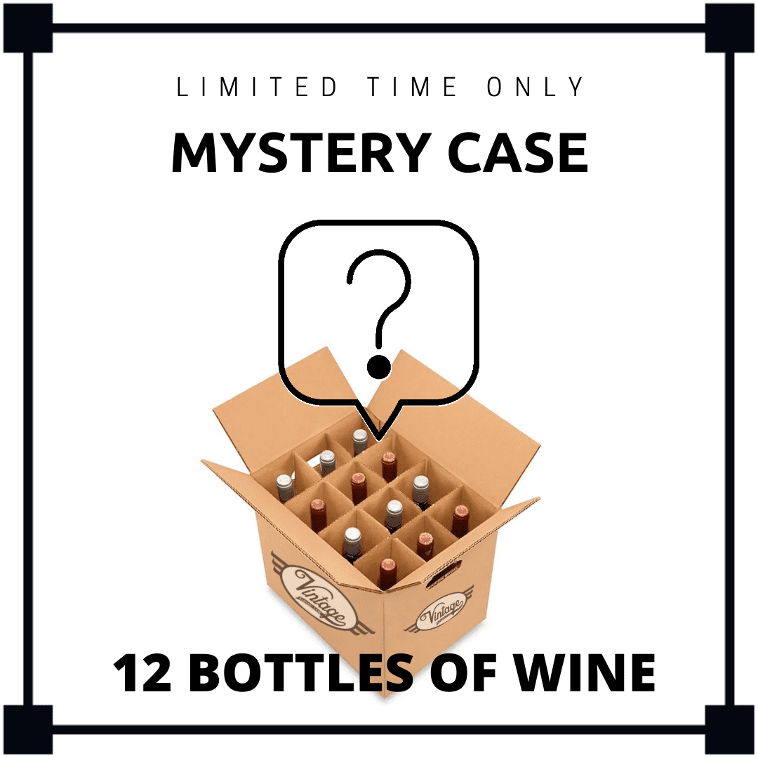 Mystery Case - 12 bottles of Wine