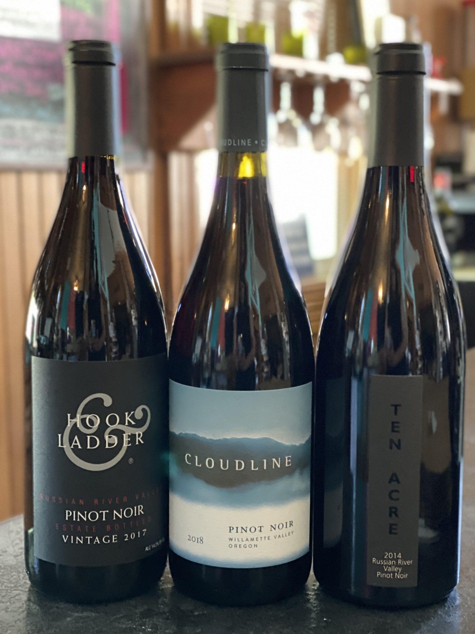 Premium Pinot Noir Tasting Trio