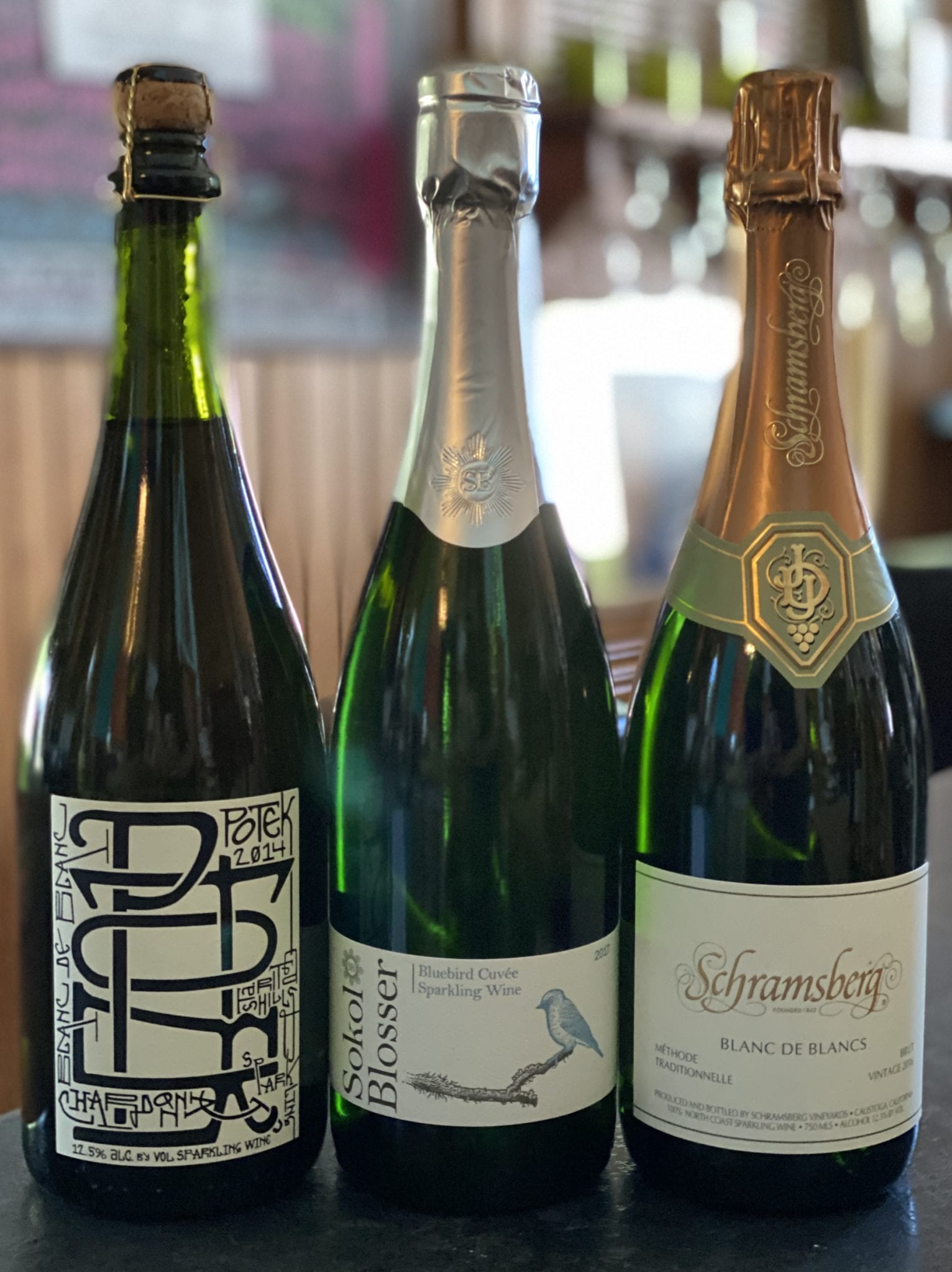 Bubbly Blancs Tasting Trio