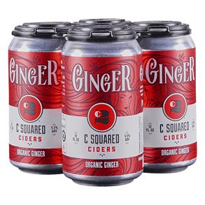 C Squared Ginger Hard Cider 4-pack