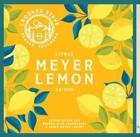 Crooked Stave Meyer Lemon Saison 6-pack