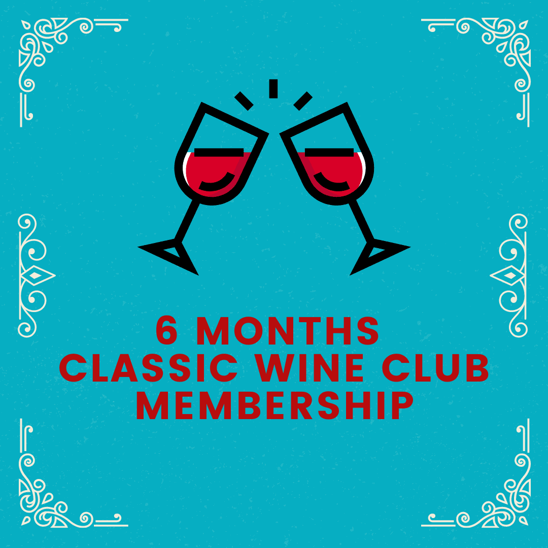 6 Month Classic Wine Club Membership