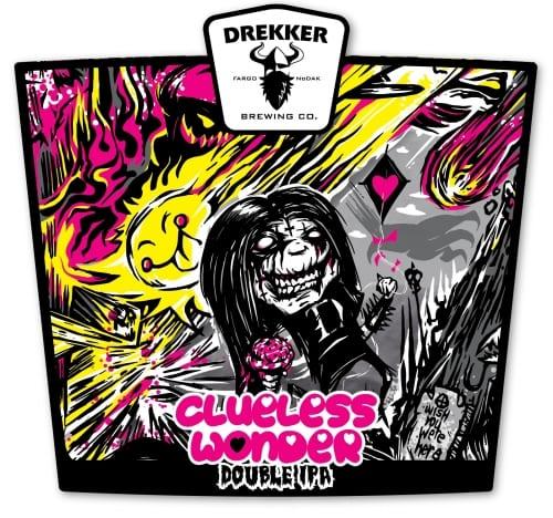 Drekker Evil Clueless Wonder Double IPA 4-pack
