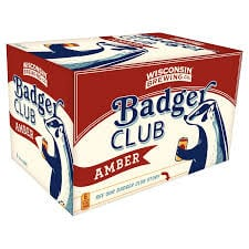 """Wisconsin Brewing """"Badger Club"""" Amber Ale 6-pack"""