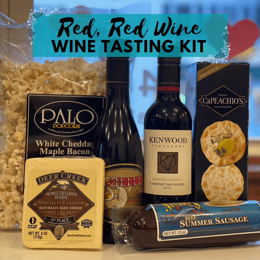 Red, Red Wine - Wine Tasting Kit