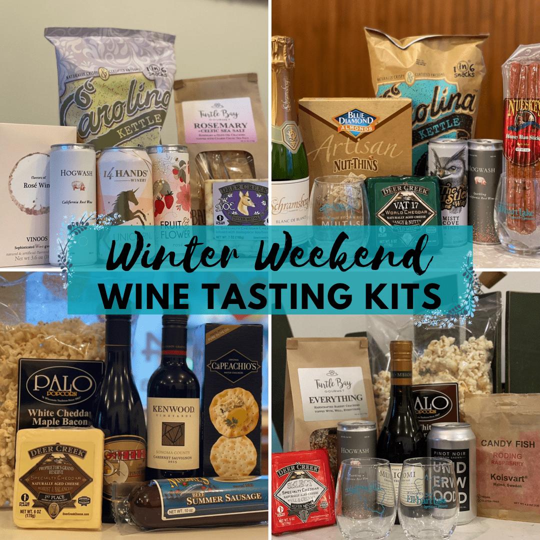Winter Weekend Wine Tasting Kits