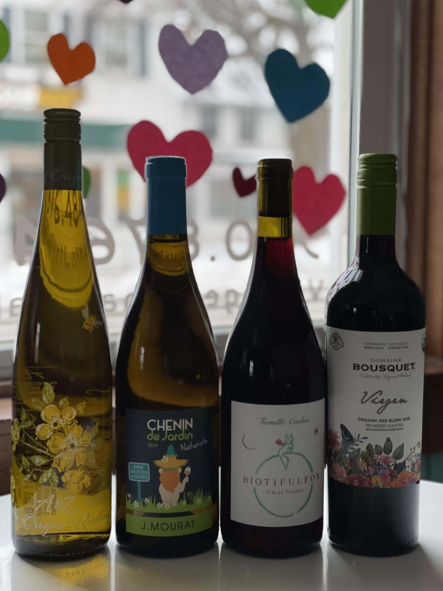 """March 24th Virtual Wine Tasting: """"Green"""" Wines (wine & treats)"""