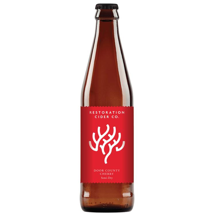Restoration Door County Cherry Hard Cider 4-pack
