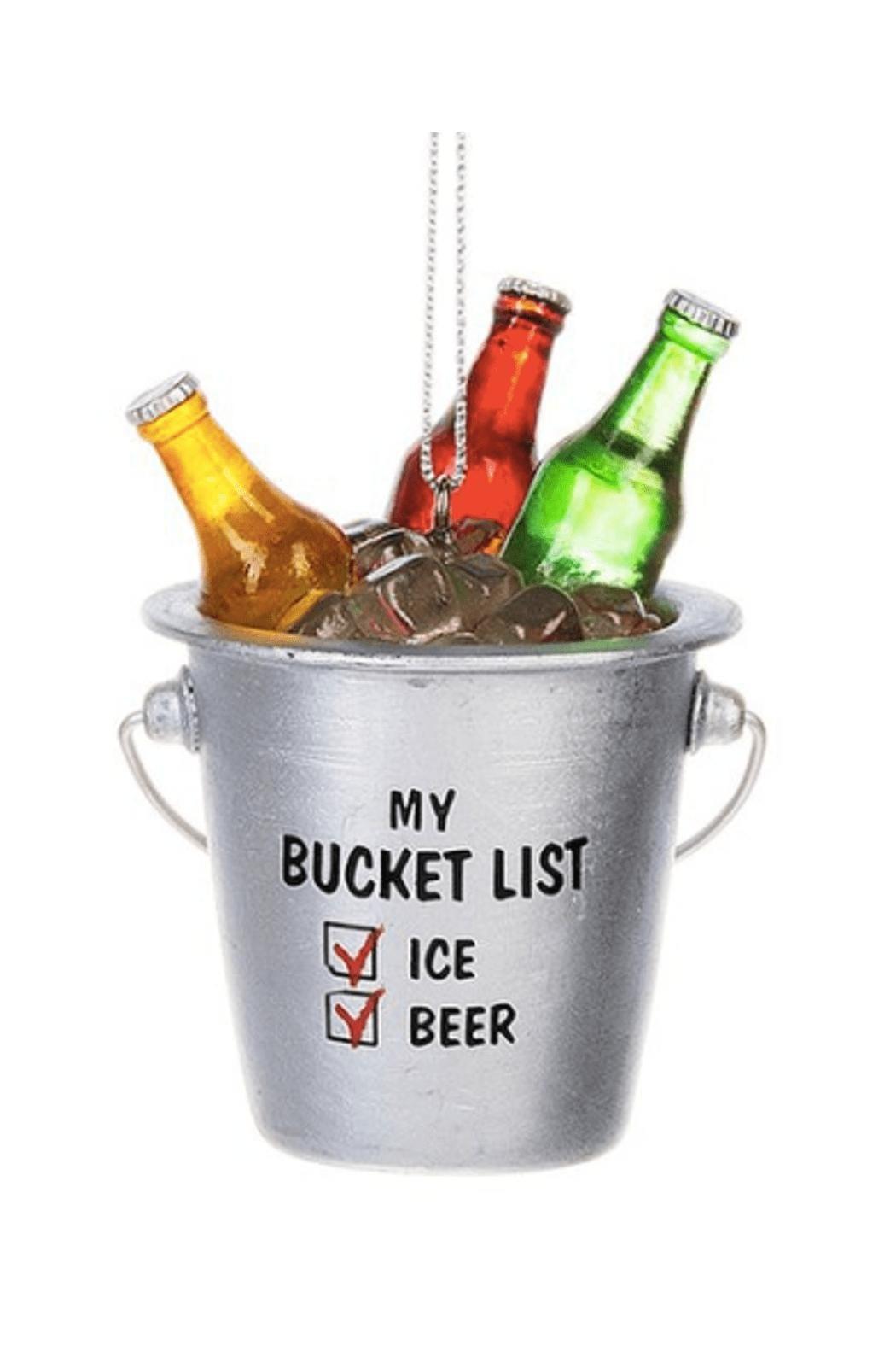 Beer Bucket List Ornament