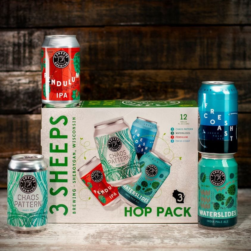 3 Sheeps Variety Hop Pack 12-pack