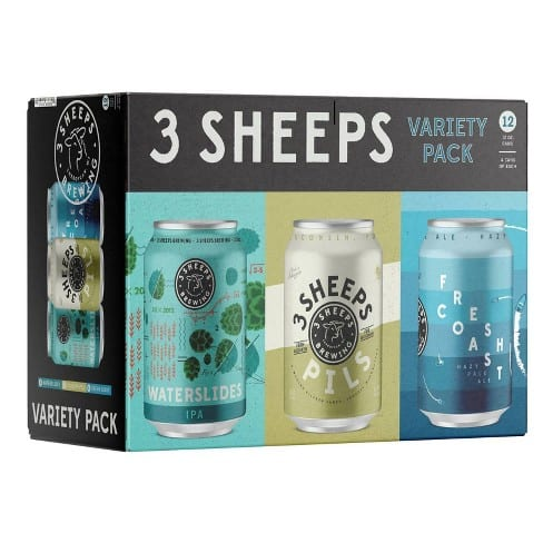 3 Sheeps Variety Pack 12-pack
